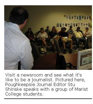 newsroom visit
